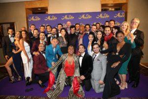 Aladdin opening cast australia