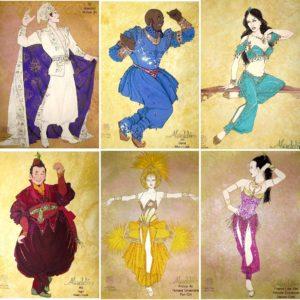 Aladdin costumes by Gregg Barnes