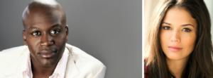Tituss Burgess and Arielle Jacobs