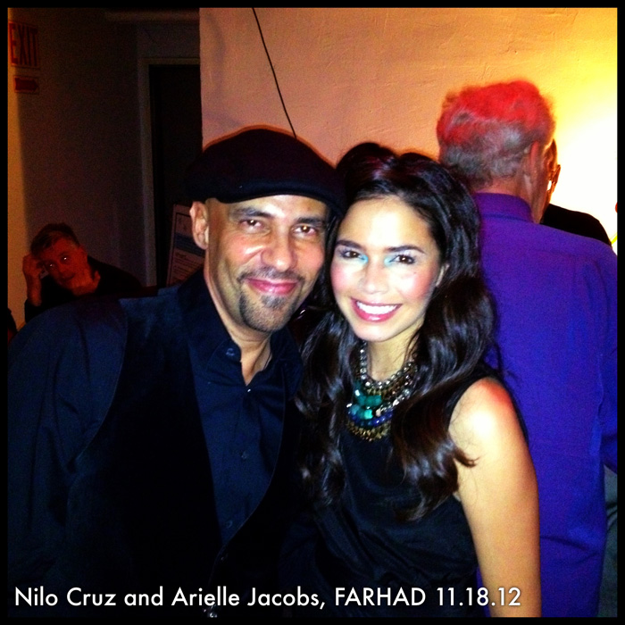 Nilo Cruz and Arielle Jacobs