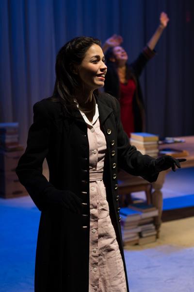 Arielle Jacobs and Franca Sofia Barchiesi