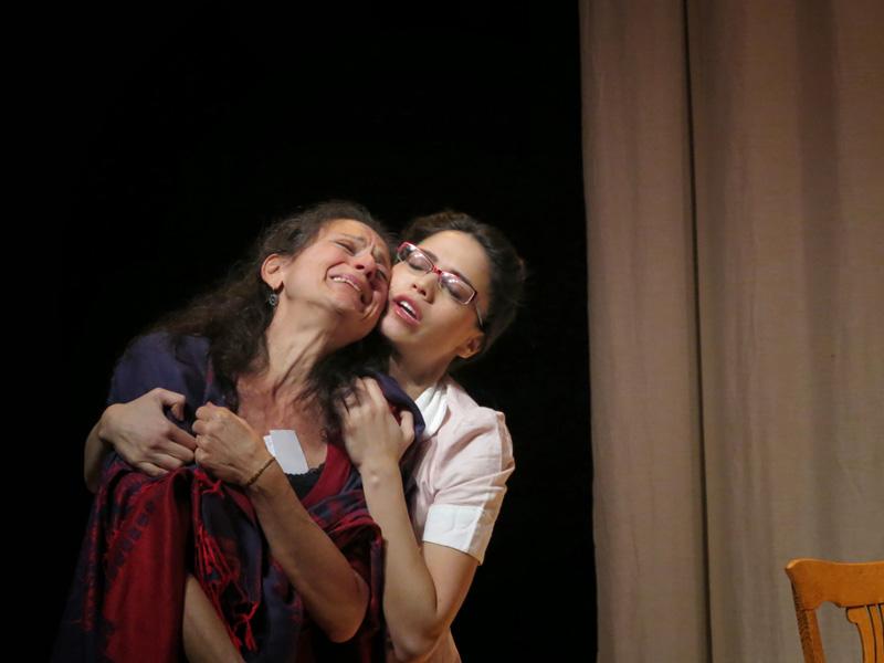 Franca Sofia Barchiesi and Arielle Jacobs