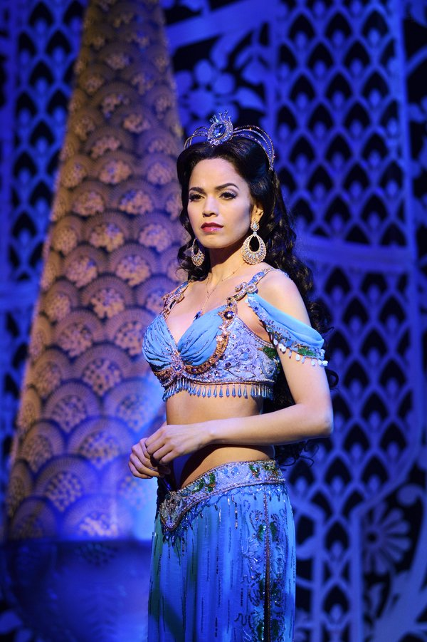 Arielle as Princess Jasmine