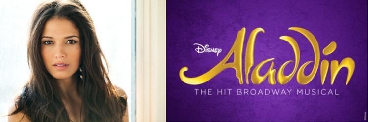 Arielle Jacobs as Princess Jasmine in Disney's Aladdin on Broadway